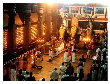 Guruvayur Temple Festival / Ulsavam / Anayottam