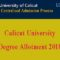 Calicut University Degree Third Allotment Result 2018