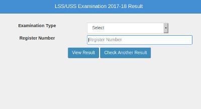 Pareekshabhavan USS / LSS Result 2019