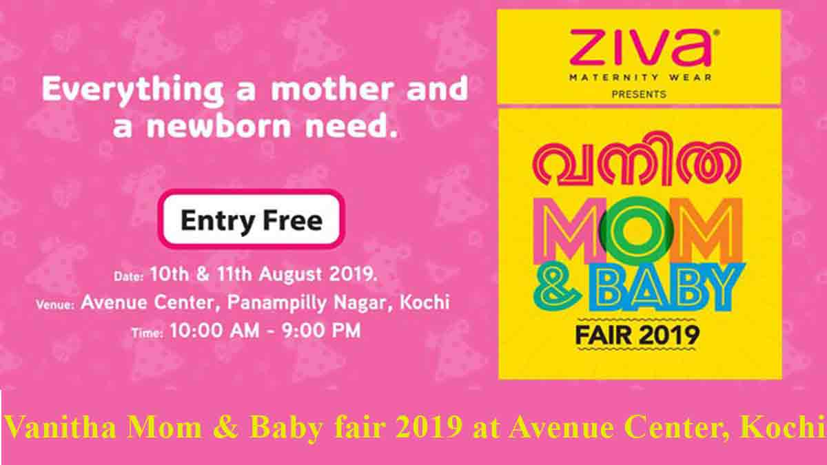 Vanitha Mom & Baby fair 2019 at Kochi