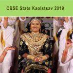 CBSE State Kalotsav