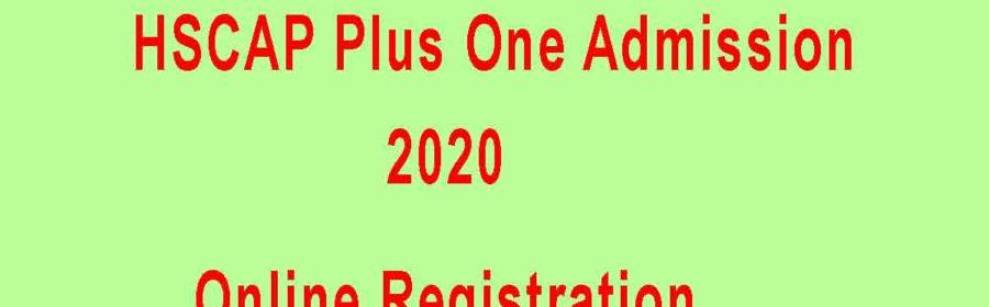 HSCAP Plus One Admission 2020