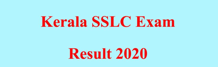 Kerala SSLC Exam Resut 2020