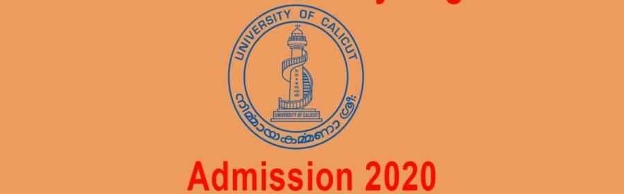 Degree Allotment Calicut University