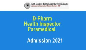 LBS DPharm-paramedical-admission 2021