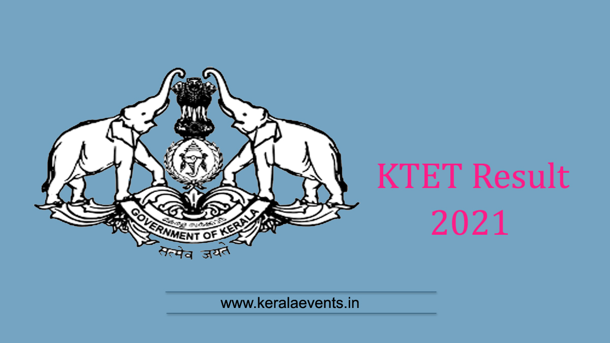 Kerala Teachers Eligibility Test Result 2021