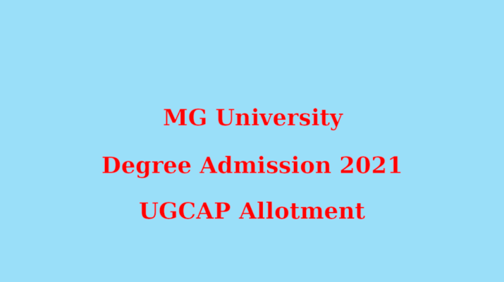 MG Degree Admission